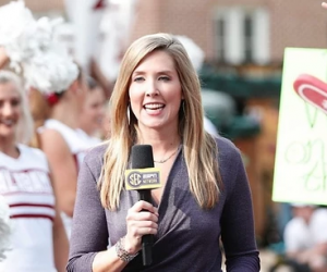 Lauren Sisler on SEC Gameday (Photo BirminghamChristian.com)