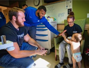 """""""Kentucky is a place where they avidly care about sports and everybody just kind of helps each other."""""""